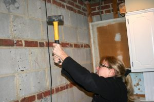 Metaphor alert: it takes a sledgehammer to remove old walls.